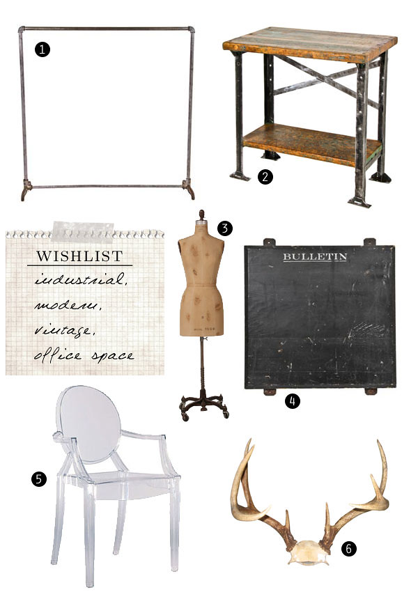 Wishlist - Industrial Vintage Office