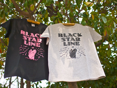 Artical / Black Star Line Tee