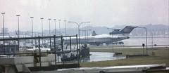 Boeing 727-2H9/Adv YU-AKJ JAT - Yugoslav Airlines, London - Gatwick, July 9 1984. (ATom.UK) Tags: lgw jat boeing727 yuakj