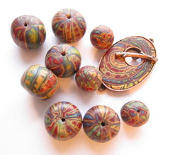 Challenge Beads by susanwhitestudio