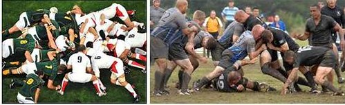 scrum vs ruck