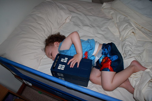 Lex Sleeping with TARDIS_0001a