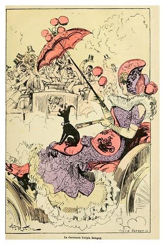 002-La encantadora Tulipia Balagny-La grande mascarade parisienne 1881-84-Albert Robida