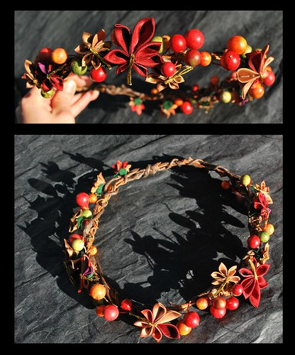 Autumn Leaves Crown