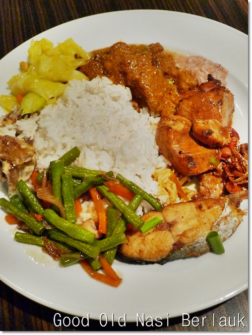 Nasi Berlauk for Dinner
