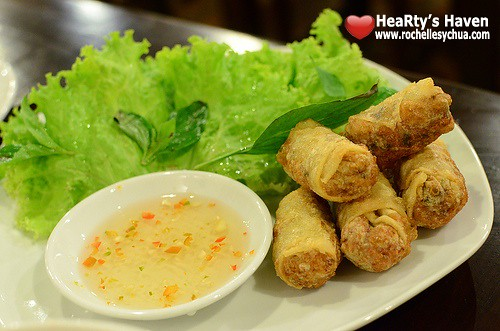 fried spring rolls ba noi's
