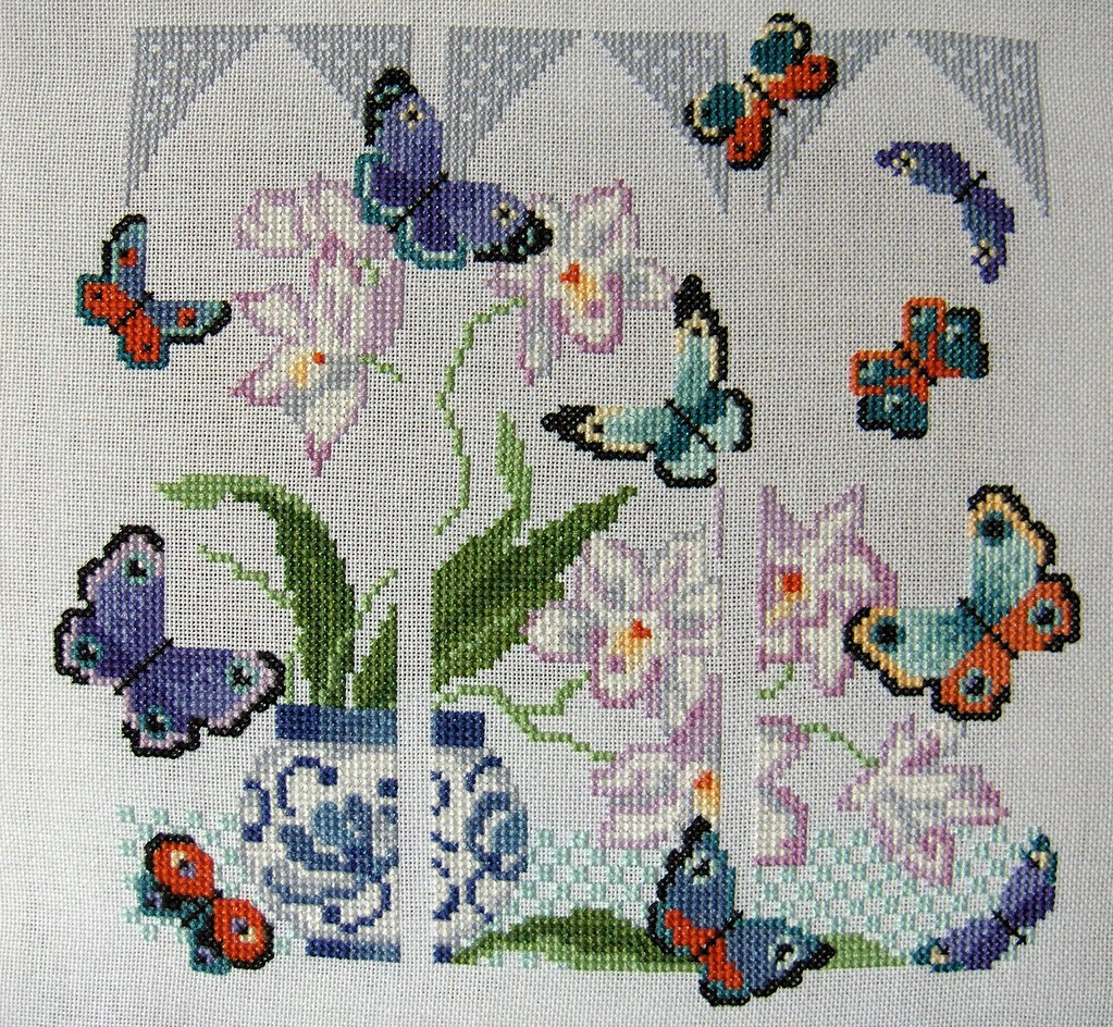 Cross Stitch Butterflies
