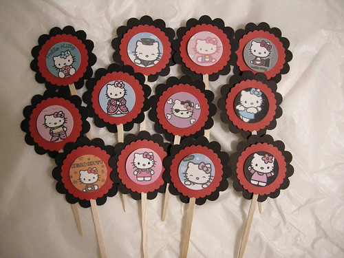 ♥ Your Choice-Themed Cupcake Toppers ♥
