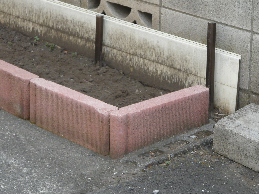 Carpark Brick Planter