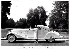 1935 Delage D8-15 Cabriolet by Letourneur et Marchand (aldenjewell) Tags: photograph d8 cabriolet delage 1935 letourneuretmarchand d815