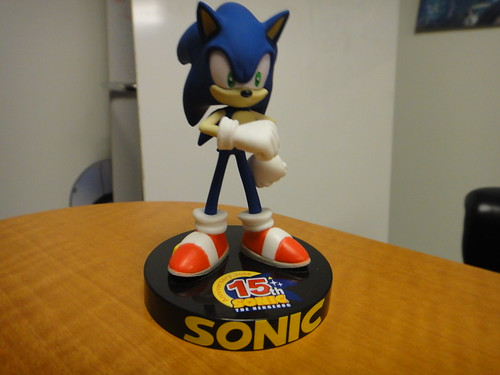 Sonic the Hedgehog 15th Anniversary Figurine