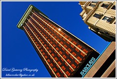Madrid Barclays Tower (david gutierrez [ www.davidgutierrez.co.uk ]) Tags: madrid tower architecture skyscraper barclays colorphotoaward mygearandme