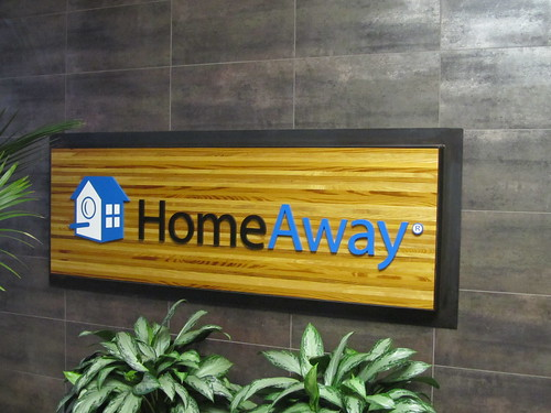 HomeAway sign