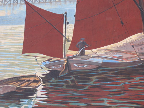 Thames Barge Mural, Erith