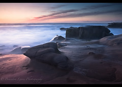 Neptune's Redemption (Brandon Lyons) Tags: ocean ca longexposure sunset sun beach water clouds landscape sandiego lajolla pacificocean socal lightroom birdrock canoncamera 1635mm gnd