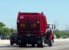 PMI Sanitation Truck (Photo Nut 2011) Tags: trash truck garbage junk freeway waste refuse sanitation uws garbagetruck pmi trashtruck wastedisposal universalwastesystems