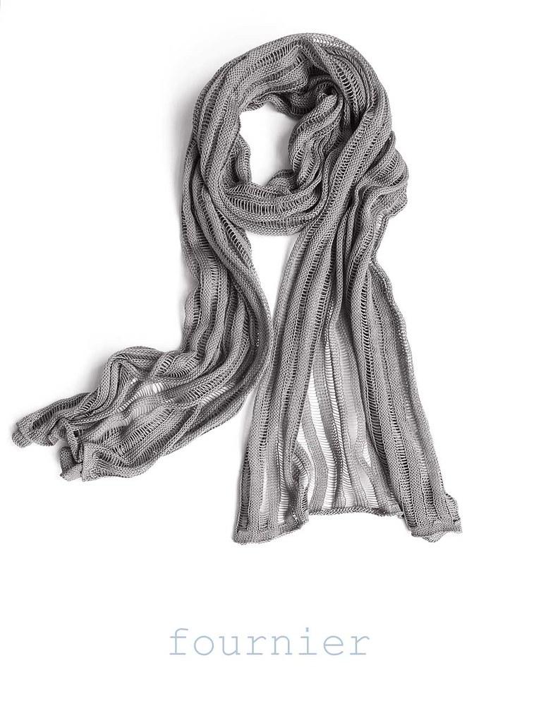 1- Fournier scarf - Handmade shop, organic