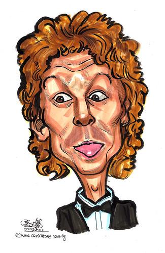 plastic surgery caricature - past