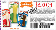 Non-Edible Nylabone Coupon