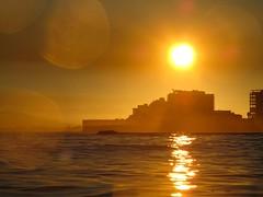Golden Hour (silver~halide) Tags: ocean sea sunrise earlymorning capetown mouillepoint