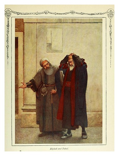 007-Shylock y Tubal.-Shakespeare's comedy of the Merchant of Venice 1914- James D. Lintonjpg
