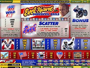 free Evel Knievel slot mini symbol