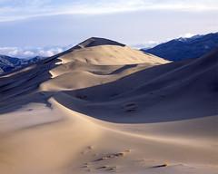 Eureka Dunes (Riverman___) Tags: california park color colour film landscape death dunes nevada large slide sierra national valley 4x5 format nikkor 45s e6 ebony eureka schneider
