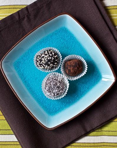Truffles au chocolat