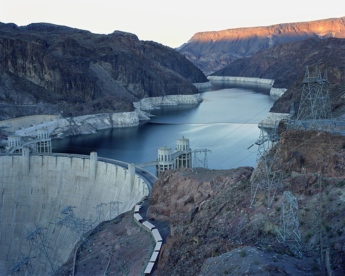 Mitch Epstein - Hoover Dam and Lake Mead. NevadaArizona 2007