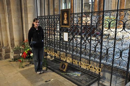 Katherine of Aragon's tomb