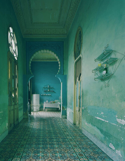 Michael Eastman, Blue Kitchen, Havana