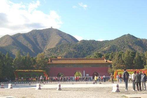 Ding Ling Grabanlage nordwestlich von Peking