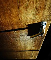 door (o.r.b) Tags: door wood lines digital canon handle eos line indoors doorhandle 400d canoneos400ddigital