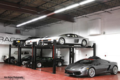 Lifts (Alex Weber) Tags: cars alex garage ferrari spot storage exotic lp parked lamborghini rare find 62 weber countach supercars roadster murcielago maybach lifts 560 640 lp640 62s lp560