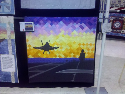 navy quilt