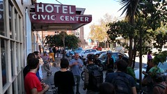 Civic Center Hotel (urbanists) Tags: spur spurtours affordablehousing development bicycletour