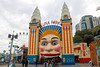 Luna Park (lukedrich_photography) Tags: australia oz commonwealth أستراليا 澳大利亚 澳大利亞 ऑस्ट्रेलिया オーストラリア 호주 австралия newsouthwales nsw canon t6i canont6i history culture sydney سيدني 悉尼 सिडनी シドニー 시드니 сидней metro city luna park milsons point harbour amusement attraction ride entertainment register national estate heritage state entrance face ferriswheel rotor