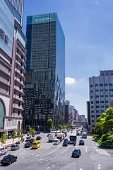 Umeda (Pikaglace) Tags: sony a7 osaka umeda japan japon modern building architecture japonaise japanese traffic trafic cars
