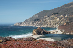 Mouth of the Little Sur River (adamkmyers) Tags: bigsur littlesurriver pacificcoasthighway