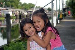 happy sisters (the foreign photographer - ) Tags: cute happy sisters khlong lard phrao portraits bangkhen bangkok thailand nikon d3200