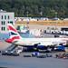 Aussichtsplattform Frankfurt Airport: British Airways Airbus A319-131 G-EUPZ