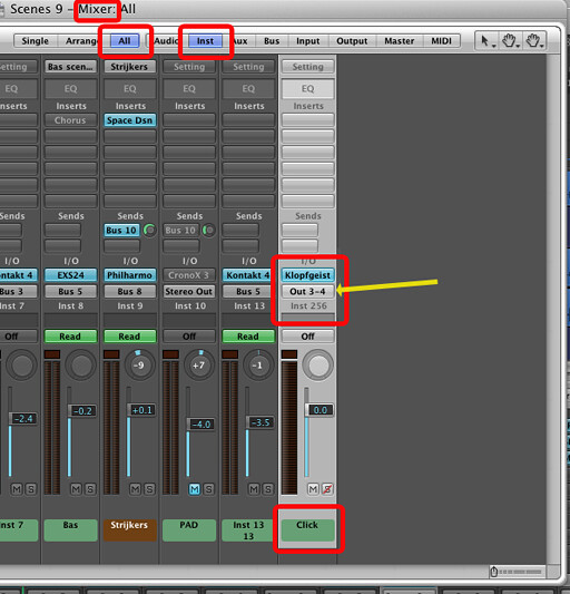 Inserting start stop points on the time line   - Logic Pro Help