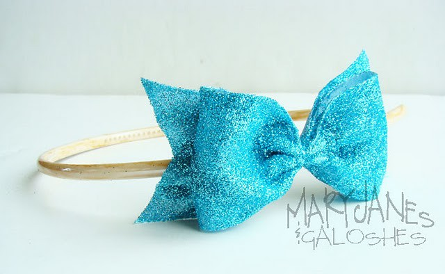 Glittler Bow Headban Tutorial