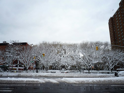East Houston Winter, East Village, New York City