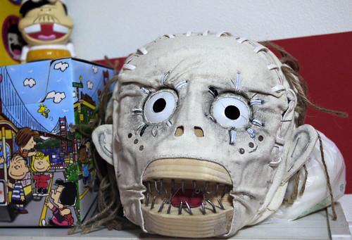 Mokume mask