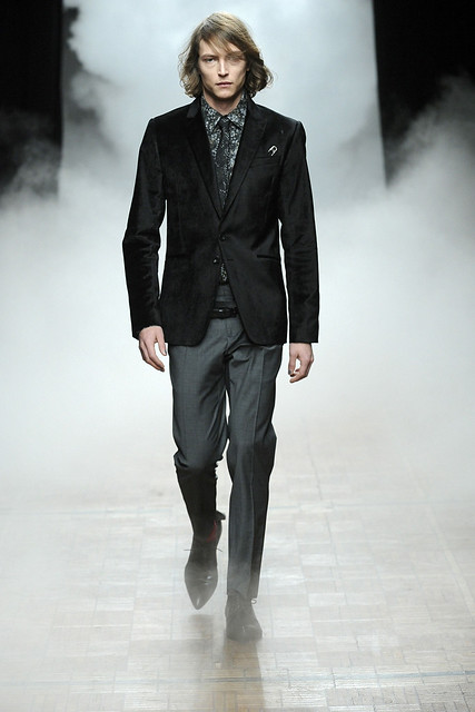 Christian Brylle3186_FW11_Paris_Bill Tornade(Simply Male Models)