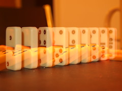 Day 30 - Falling dominoes