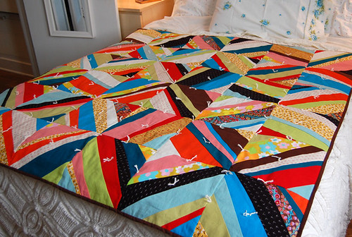 Any Way You Slice It Quilt - FINISHED!