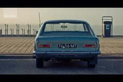 Ford Capri (Carlo Vingerling) Tags: sea classic ford beach vintage capri view zandvoort carlovingerling lonelywaiting zerofivephotography