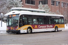 University of MN PTS 3813 (TheTransitCamera) Tags: campus university parking transportation shuttle van mn services hool a300l umnpts3813